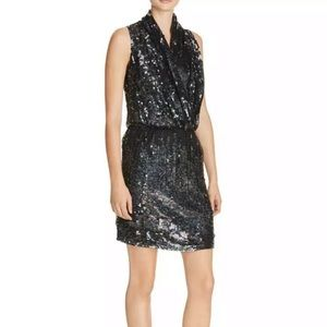 PARKER SEQUIN COCKTAIL DRESS